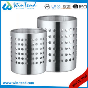 Hot Sale Classic Stainless Steel Western Cutlery Holder with Holes pictures & photos