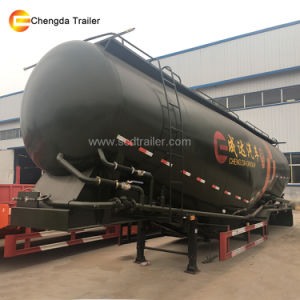 2 Axle 30m3 Bulk Cement Semi-Trailer with Air Compressor pictures & photos