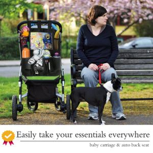 Auto and Baby Carriage Dual-Use Back Seat Backseat Car Organizer for Kids pictures & photos