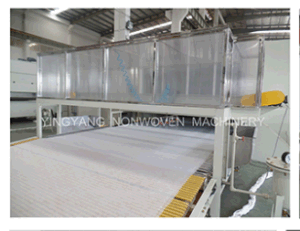 Chemical Bonded Wadding Production Line (YYL-HP) pictures & photos