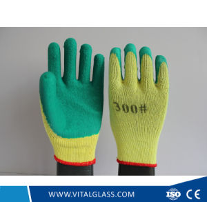 13 Gauge Safety Latex Coated Glove pictures & photos