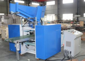 Aluminum Foil Roll Rewinding and Cutting Machine pictures & photos