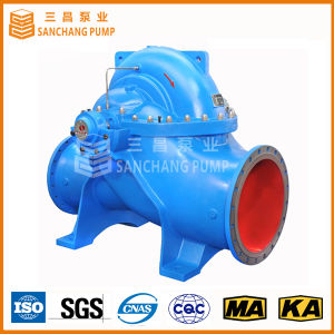 Axially Double Suction Split Case Centrifugal Pump Stainless Steel Material pictures & photos