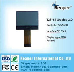 Cog Type 128X64 Graphic LCD Module. Controller St7565r, FPC 15pin pictures & photos