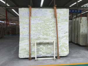 Factory Directly Sale Hotel Decoration Wall Floors Green Marble Central Asia Jade Marble pictures & photos