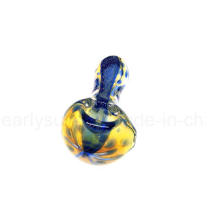 Glass Simple Fumed Spoon for Smoke with Smoker People (ES-HP-053) pictures & photos