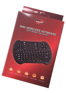 S501 2.4GHz Mini Wireless Keyboard Air Mouse Touchpad pictures & photos