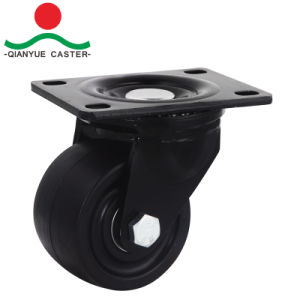 3 Inch Nylon Low Profile Rigid Caster, 500kgs Loading pictures & photos