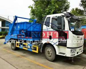 FAW 6 tons 8 tons 10 tons Skip Loader Garbage Truck Waste Collection Trucks pictures & photos