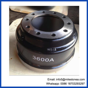 China Manufacturer Trailer Axle Parts Brake Drum 3600ax pictures & photos