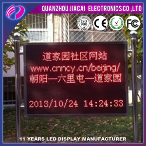 P10 Outdoor Red LED Display Screen pictures & photos