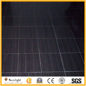 Polished White/Black Wood/Wooden Marble, Wooden Vein Marble pictures & photos