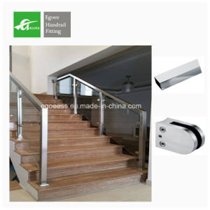 Floor Mounting Stainless Steel Pipe Stair Removable Handrail pictures & photos