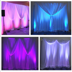 Factory Portable Rk-Ts610 Square Pipe and Drape for Wedding Backdrop Supplier pictures & photos