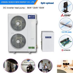 Slovenia-25c Winter House Floor Heating 100~350sq Meter Villia 12kw/19kw/35kw Auto-Defrost Evi New Heat Pump Split Water Heater pictures & photos