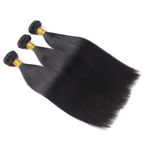 Hot Sale Quality Human Hair Weaving Silky Straight Weave 18inches pictures & photos