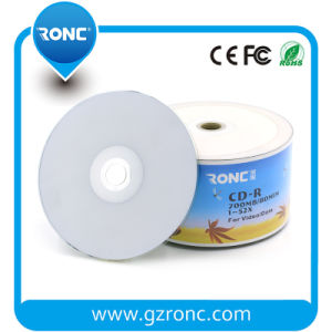 Blank CD-R White Inkjet Printable CD-R 700MB 80min pictures & photos