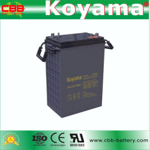 DC420-6 6V 420ah Deep Cycle AGM Battery pictures & photos