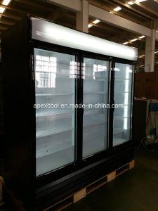 Triple Door Upright Display Cooler pictures & photos