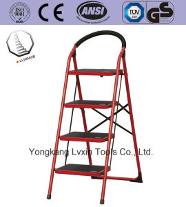 3 Steps Multipurpose Household Steel Ladder pictures & photos