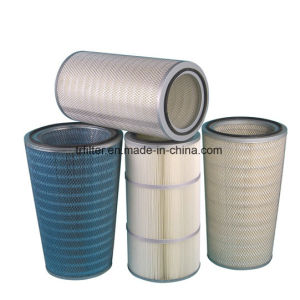 Gas Turbine Pleated Cellulose Filter Cartridge for Air Compressor pictures & photos