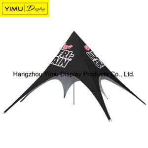 Custom Painting Double Peak Star Shade Tent for Sell pictures & photos