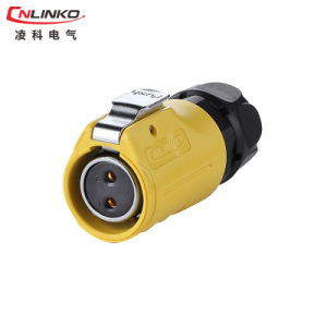 China IP65 Wireharness Connector 2pin Male Plug for Power Equipment pictures & photos
