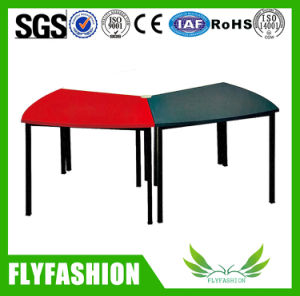 Activity Table Study Trapezoid Table Classroom Furniture pictures & photos