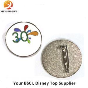 Souvenir Synthetic Enamel Badge Clip Safety Pin pictures & photos