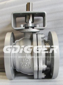 2PC Floating Full Bore Ball Valve (DG006BV21) pictures & photos