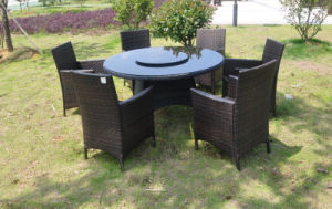 CE Approved PE Rattan Dining Furniture