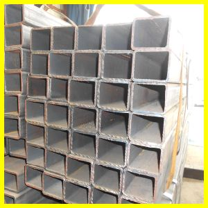 Black Steel Pipe Hollow Section pictures & photos
