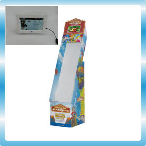 Cardboard Display with Advertising Player pictures & photos