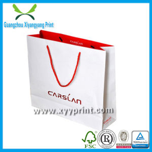 Custom Colorful Shopping Paper Bag for Garment pictures & photos
