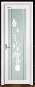 Australian Standard Aluminum Casement Bathroom Door with Tinted Glass From Roomeye in Zhejiang, China (ACD-009) pictures & photos
