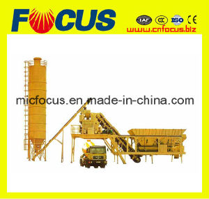 Popular Movable Concrete Mixing Plant Yhzs25 for Construction pictures & photos