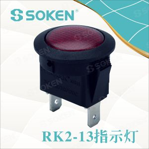 Soken Switch Miniature Round Signal Indicator Light pictures & photos
