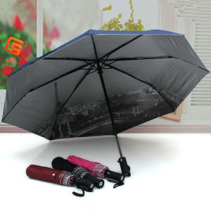 Windproof Automatic Open and Close Umbrella for Rain (YS-3F2005A) pictures & photos