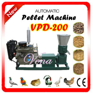 Competitive Price of Motor Feed Pellet Machine on Hot Sale (VPD-200) pictures & photos