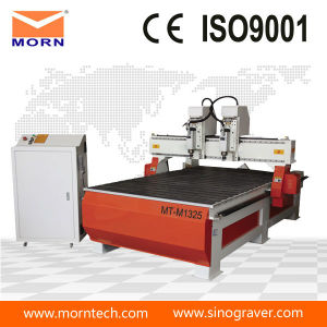 Double-Spindle CNC Machine for Wood Carving pictures & photos
