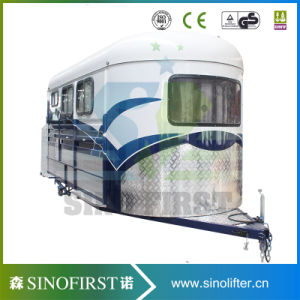 Shower Room Aircondition for Three Horse Angle Load Horse Float pictures & photos