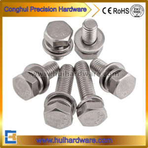Stainless Steel A2-70 Hex Head Combined Assembly Sem Screws pictures & photos
