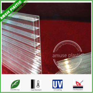 Double Wall/Triple Wall/Multiwall Polycarbonte Roofing Hollow Sheet pictures & photos