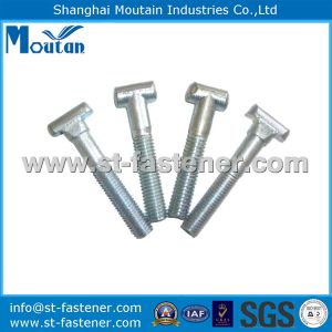 Carbon Steel Zinc Plated T Bolts as Per Drawing