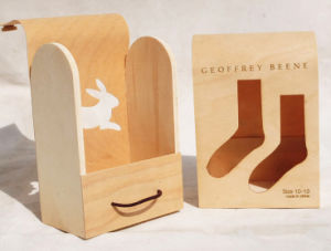 Pine Wooden Stockings Storage Gift Box pictures & photos