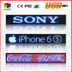 LED Car Display Indoor Programmable Image RGB Full Color LED Sign Support Scrolling Text LED Advertising Screen Display pictures & photos
