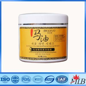 Horse Oil Lightening Whitening Cream Facial Mask pictures & photos