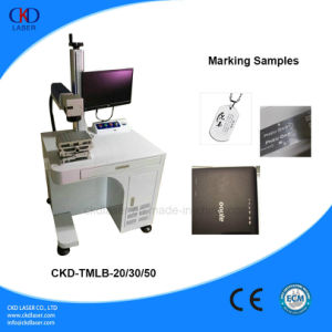Hot Sale Optical Fiber Laser Marking Machine pictures & photos