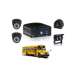 Hot Professional 4CH HDD School Bus Mobile DVR pictures & photos