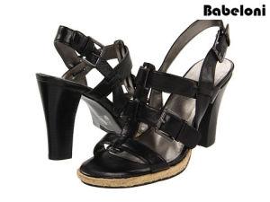 New Hot Fashion Promotion PU Ladies Sandals Shoes